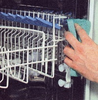 очистка посудомойки