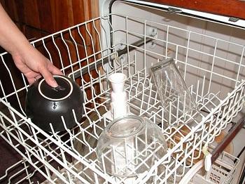 правильная загрузка посудомоечной машины
