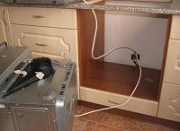 установка духового шкафа