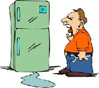 плохая работа холодильника в жару