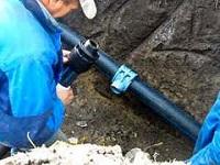 Подключение дома к водопроводу