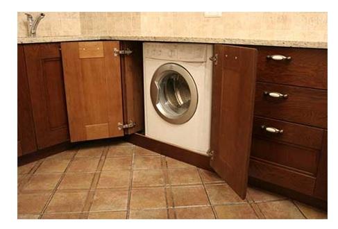 правильное место для стиральной машины