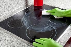 чистка стеклокерамической плиты