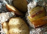 картофель в проварке