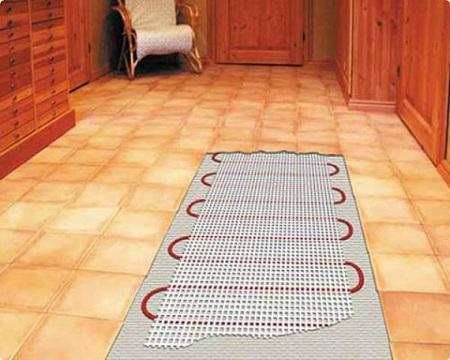 теплый пол под плиткой