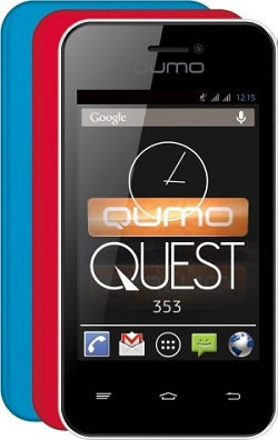 смартфон до 3000 рублей Qumo Quest 353