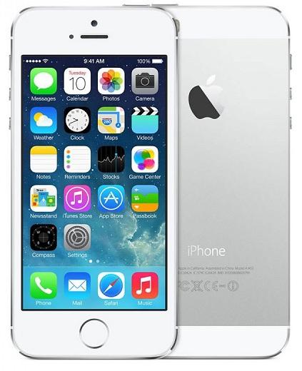 смартфон с 4 дюймовым экраном Apple iPhone 5S 16Gb