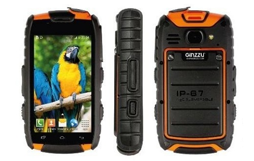 смартфон с защитой Ginzzu RS61D Ultimate