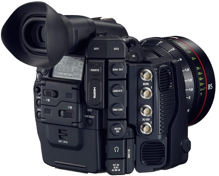 EOS-1D C с записью 4K видеороликов