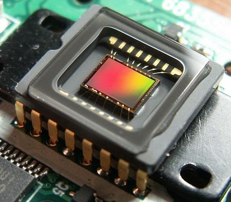 ПЗС-матрица камеры