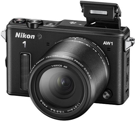 Защищенная беззеркалка Nikon 1 AW1