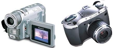 фотоаппарат или видеокамера