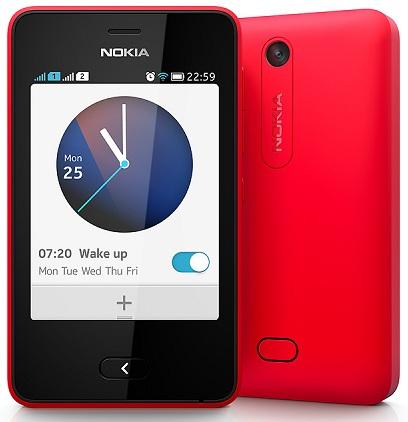 небольшой смартфон Nokia Asha 501 Dual Sim