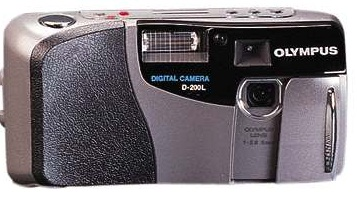 Один из лучших фотоаппаратов своего времени Olympus D-200L