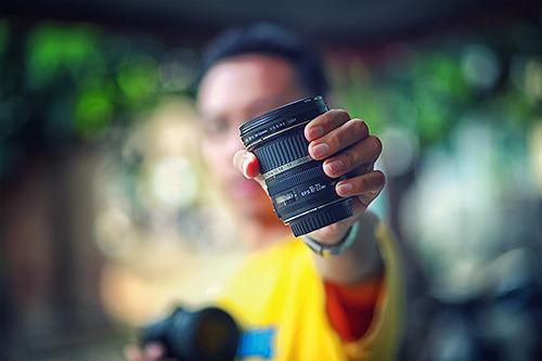 фокусировка в фотоаппарате