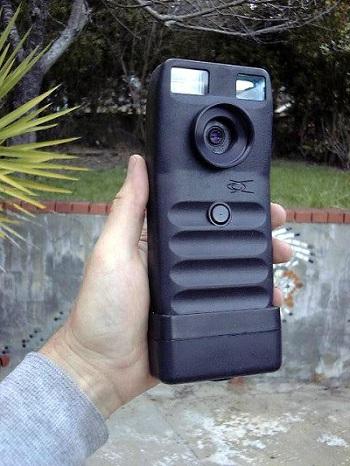 первый цифровой фотоаппарат Dycam Model 1