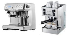 рожковая кофеварка или кофемашина