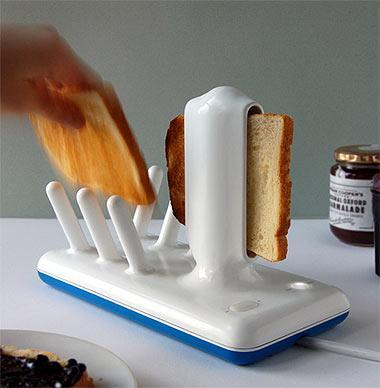 еще один необычный тостер