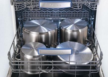 кастрюли в посудомоечной машине