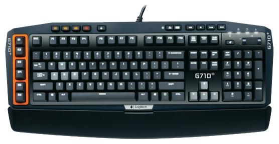 механческая клавиатура Logitech G710+ Mechanical Gaming Keyboard RUS