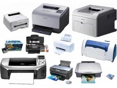 выбрать принтер
