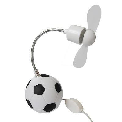 вентилятор в футбольном дизайне