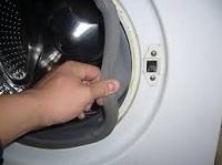 Как одеть резинку на барабан стиральной машины