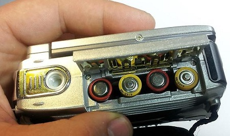 Китайская видеокамера на батарейках
