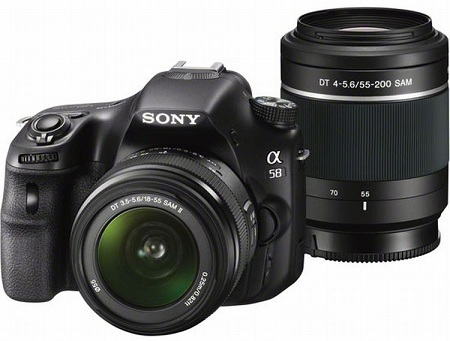 Sony Alpha SLT-A58 Kit