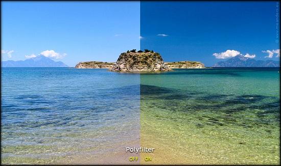 поляризационный фильтр фотоаппарата