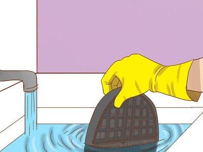 как очистить вафельницу