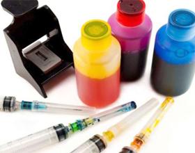 сколько краски в принтере