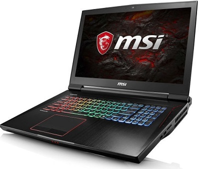 Ноутбук MSI GT83VR 7RE Titan SLI с видеокартой NVIDIA GeForce GTX 1070 SLI