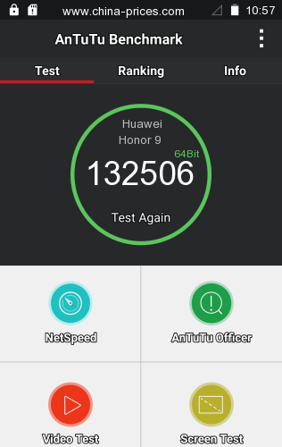 antutu result huawei honor 9
