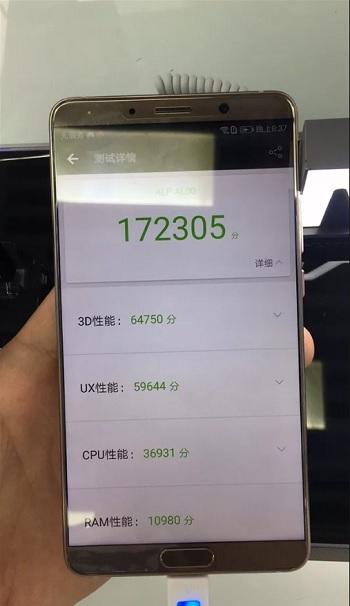 тестирование antutu huawei mate 10 с процессором kirin 970