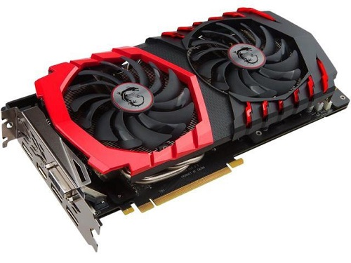 Geforce GTX 1060 msi