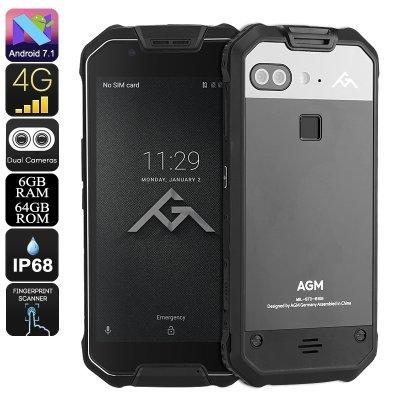 смартфон с мощной батареей AGM X2
