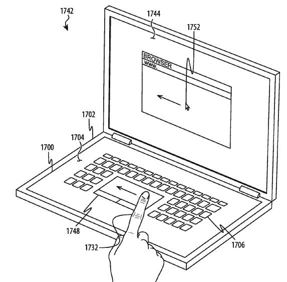 патент на сенсорную клавиатуру