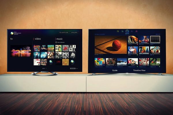 android tv or tizen