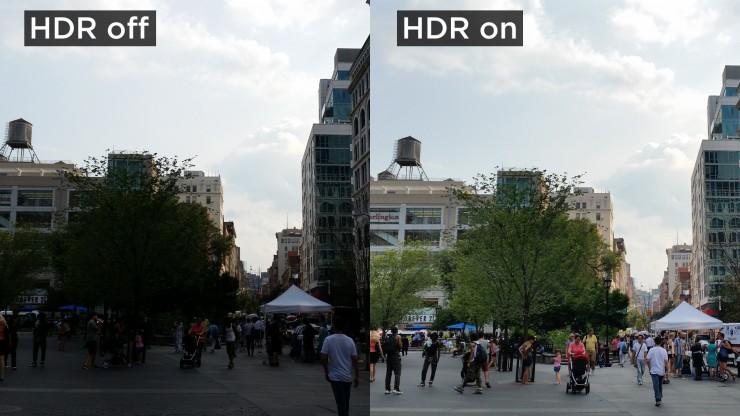 пример HDR