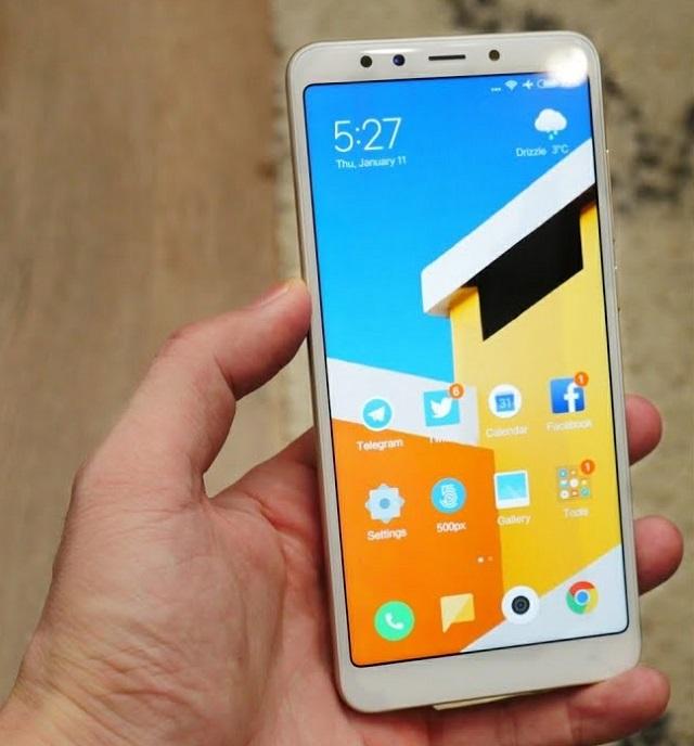 Xiaomi Redmi 5 display