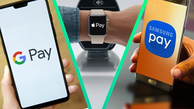 samsung pay google pay apple pay