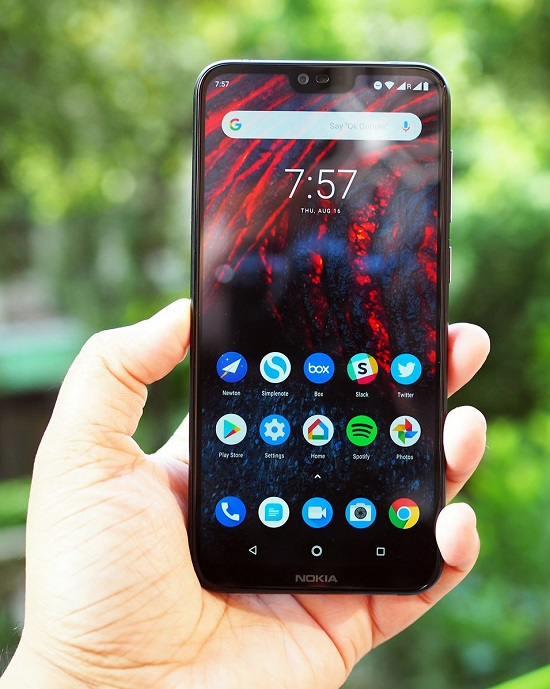 display Nokia 6.1 Plus