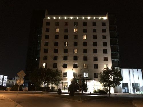 Фото на iPhone X ночью