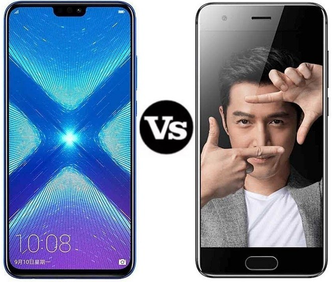 honor 8x vs honor 9