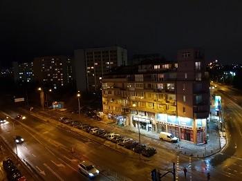 ночной снимок на Samsung Galaxy S9+