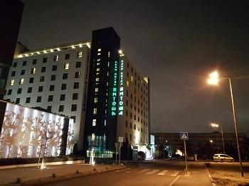 пример фото на huawei p smart 2019 в ночное время
