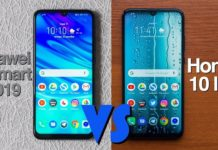Huawei P Smart 2019 vs Honor 10 Lite