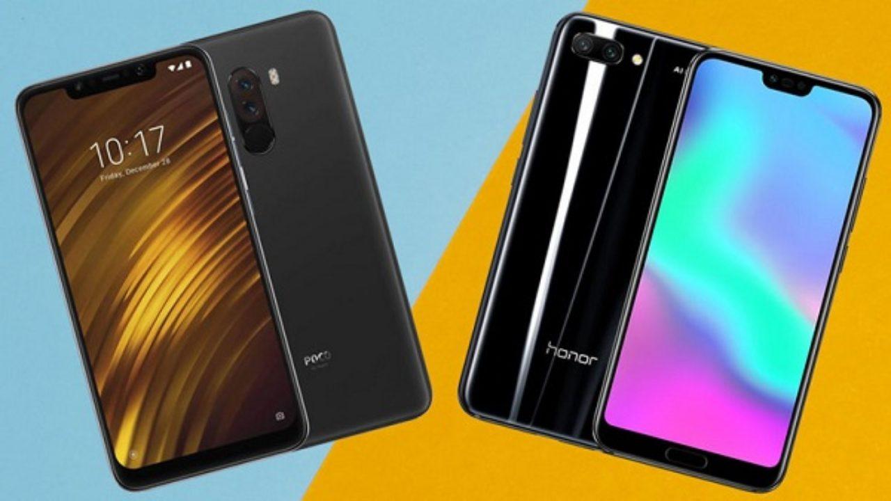 Xiaomi Pocophone F1 vs Huawei Honor 10 – что лучше? Сравнение