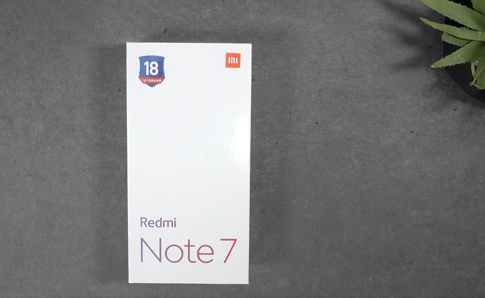 коробка redmi note 7